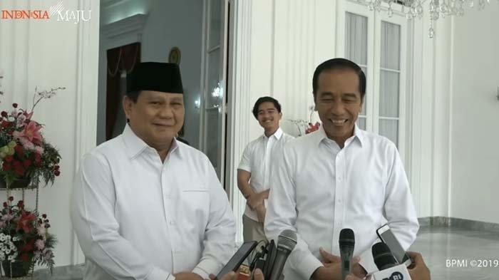 Enggan Disebut Tamu Besar oleh Jokowi, Prabowo Subianto Beri Balasan dengan Berbisik