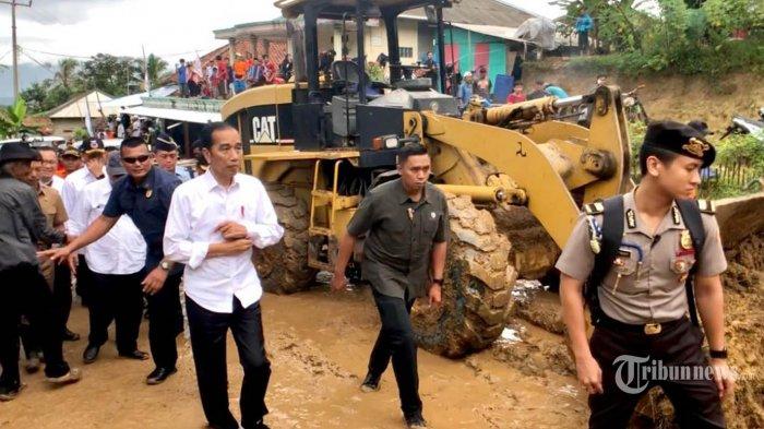 Jokowi Minta Rumah Warga Terdampak Longsor Serta Banjir Bandang di Bogor dan Lebak Direlokasi