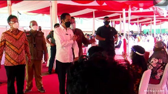 Jokowi Terus Dorong Vaksinasi Massal untuk Mempercepat Terbentuknya Herd Immunity