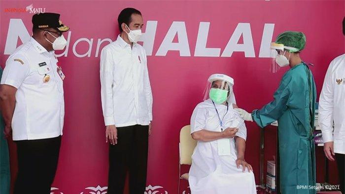 Jokowi: 116 Ribu Masyarakat di Maluku Telah Divaksinasi Covid-19