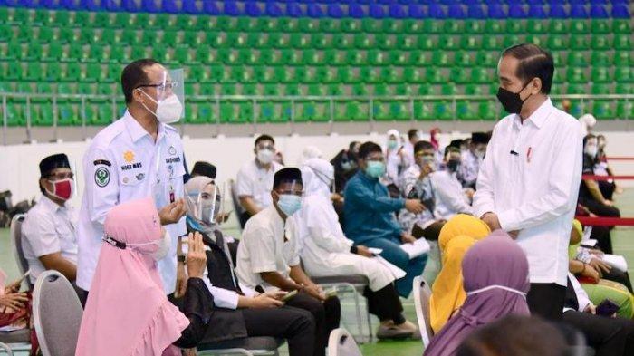 Jokowi Minta Satgas Riau Turunkan BOR Covid-19 di RS