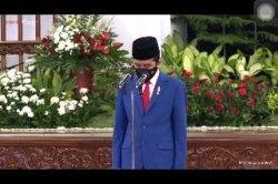 HUT Bahayangkara, Jokowi Berterimakasih pada Polri, Bantu Penanganan Pandemi Covid-19