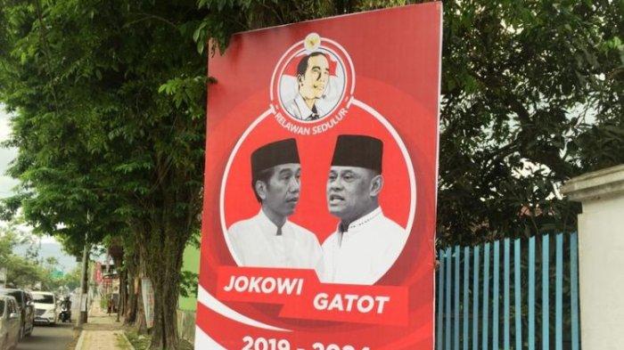 Di Bondowoso, Spanduk Jokowi-Gatot Nurmantyo Mulai Bertebaran