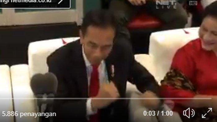 Jokowi Joget Dayung Saat Via Vallen Nyanyi 'Meraih Bintang', Anak Presiden Komentar Gini