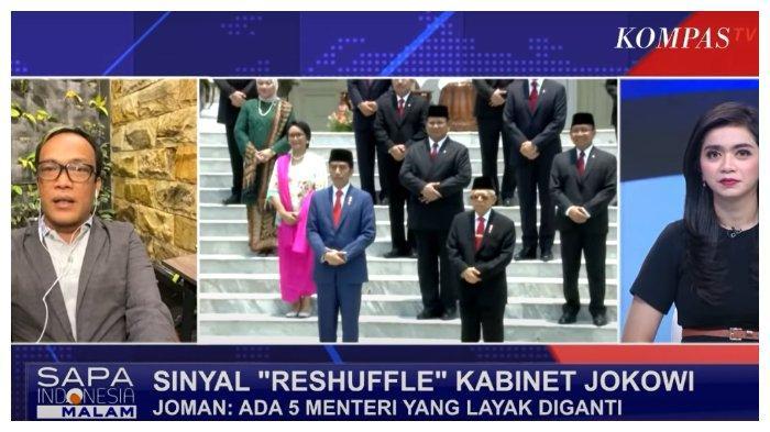 Parah! Joman Ungkap 5 Menteri Layak Diganti, Saan Mustopa: Jangan Mengintervensi Hak Prerogatif Presiden
