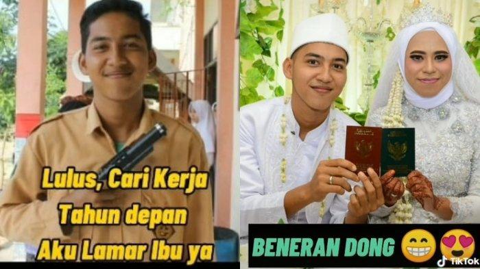 Seorang perempuan dari Kalimantan Timur, Muhrianti (29), dinikahi oleh muridnya sendiri.