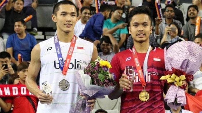 Sesaat Lagi Pukul 15.00 WIB Live Streaming Final Putra Badminton Indonesia vs Malaysia