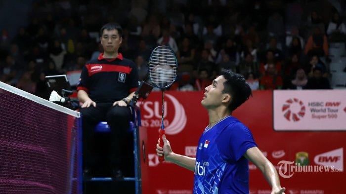 HASIL Perempat Final Thailand Open 2021: Jonatan Christie & The Daddies Gagal ke Semifinal