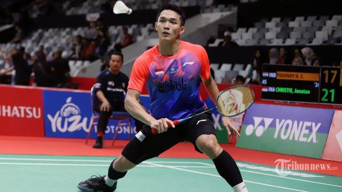 Indonesia Masters 2020 - Jonatan Christie Keluhkan Jadwal BWF Usai Sempat Bertanding Larut Malam