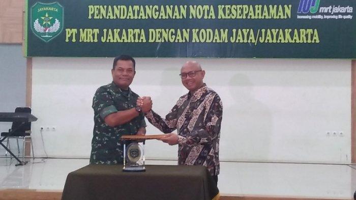 Pangdam Jayakarta Siapkan 100 Pasukan Per Hari Untuk Petakan Ancaman Keamanan di Proyek MRT