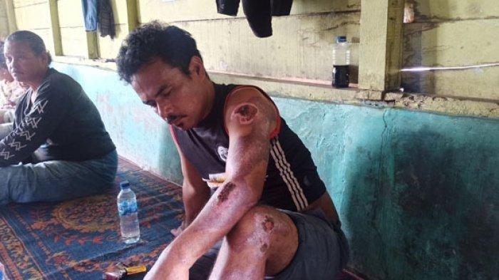 Kejar Maling Kerbau Pakai Motor Malah Ditabrak Mobil Pencuri, Jordan Luka-luka Anaknya Tewas