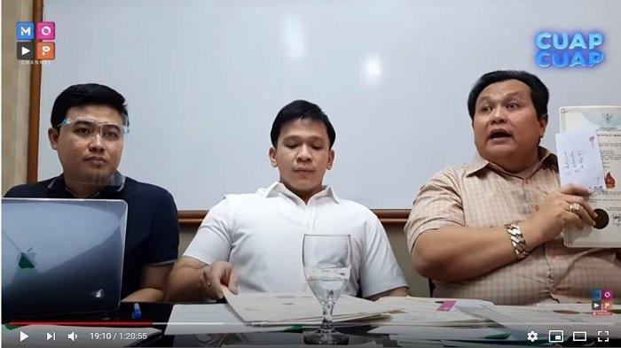 Pengacara pihak Geprek Bensu, Minola Sebayang membeberkan kondisi terkini dari Ruben Onsu setelah sempat tak bisa tidur pikirkan polemik penggunaan nama Bensu.