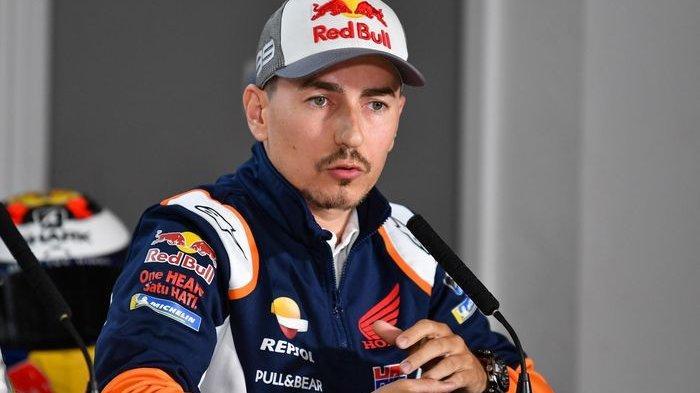 Jorge Lorenzo di sesi Jumpa Pers MotoGP Inggris 2019
