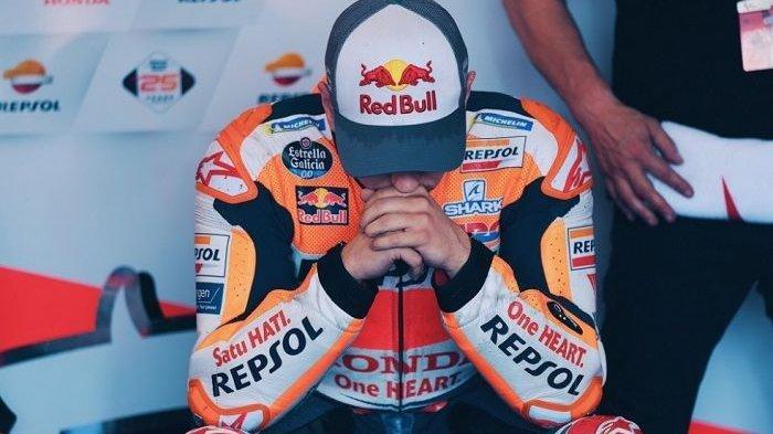 Jorge Lorenzo mengalami masalah pada motornya di MotoGP Amerika 2019.