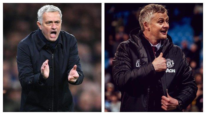 HASIL Liga Inggris, Kesamaan Manchester United & Spurs, Mourinho & Solskjaer Garang di Kandang lawan