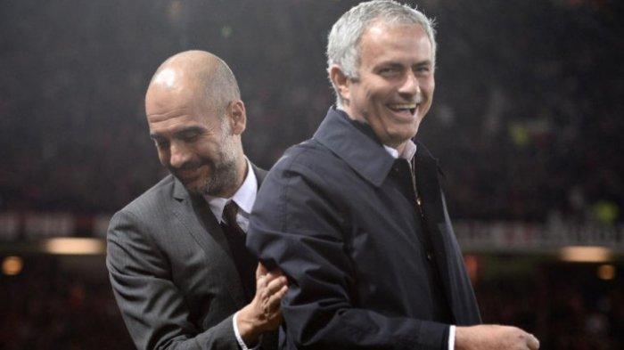 Pep Guardiola Langkahi Jose Mourinho soal Banyak-banyakan Trofi