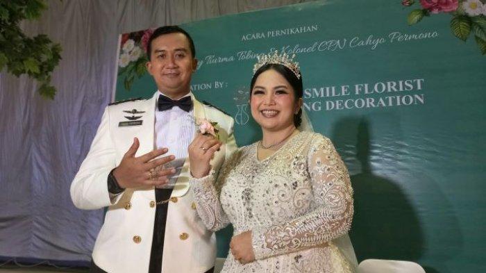 Dinikahi Perwira TNI, Joy Tobing : Semua karena Cinta