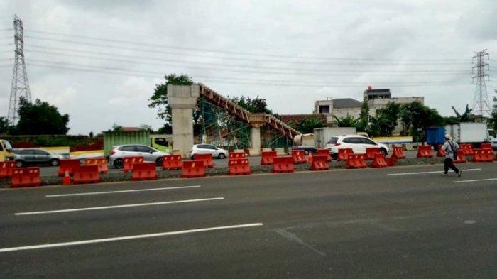 Jasa Marga Lanjut Bangun JPO, Tol Jakarta-Tangerang akan Ditutup Sementara Dini Hari Besok