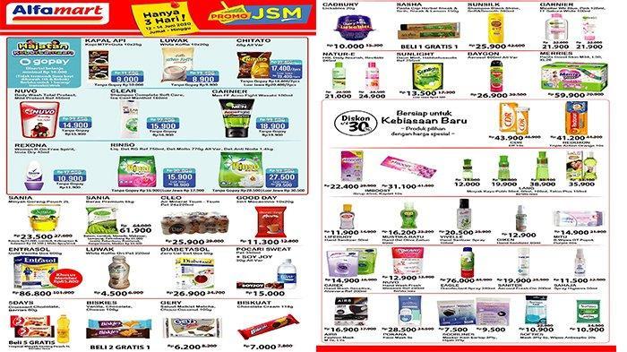 Daftar Promo Jsm Alfamart 12 14 Juni 2020 Ada Diskon Untuk Hand Sanitizer Hingga Masker Tribunnews Com Mobile