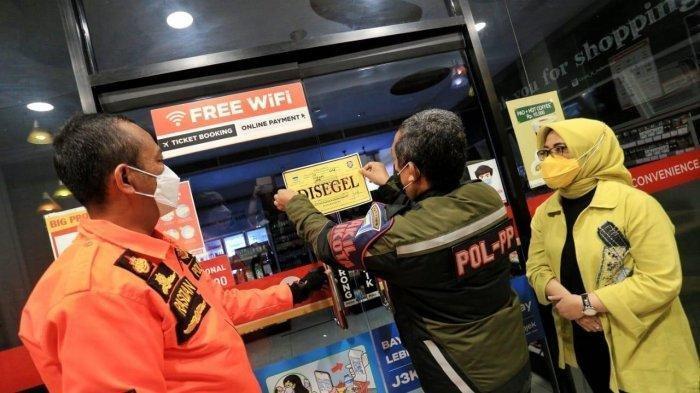 Langgar Protokol Kesehatan, Empat Toko Modern di Bandung Ditutup