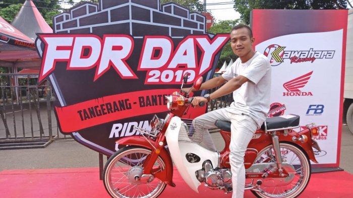 Juara 4: Modifikasi motor klasik Honda C70 di FDR Kawahara Indomodif Contest 2019.