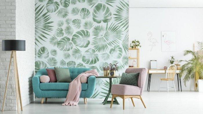 Wallpaper Dinding Bisa Percantik Rumah Temukan Motif Favoritmu Di Juara Wallpaper Tribunnews Com Mobile