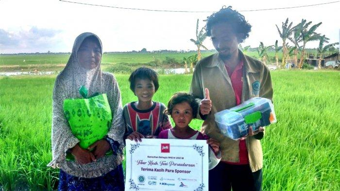 Ramadan, Jurnalis Filantropi Salurkan 325 Paket Pangan Lebaran dan Takjil