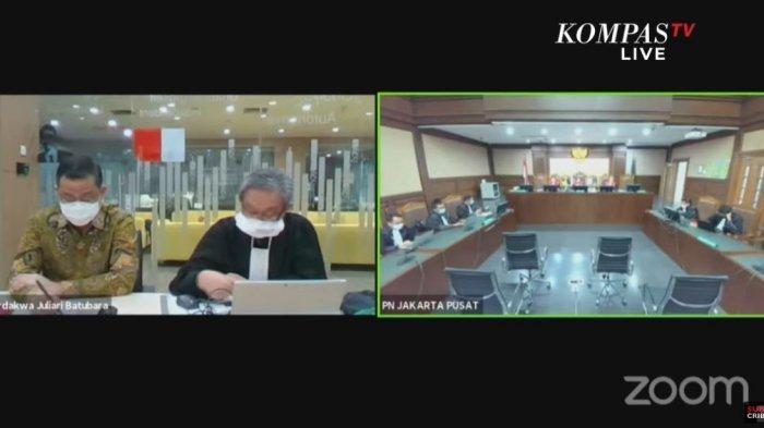 Sidang pembacaan vonis eks Menteri Sosial (Mensos) Juliari P Batubara, Senin (23/8/2021)