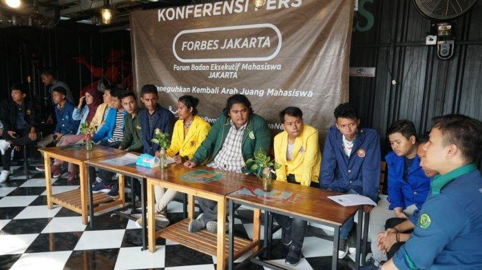 Tak Setuju Perppu KPK, Sejumlah Presiden BEM Universitas di Jakarta Pilih Judicial Review ke MK