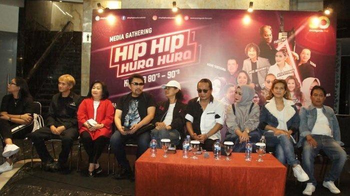 Nostalgia Era 1980-an di Konser Hip Hip Hura Hura, Ada Mus Mujiono dan Fariz RM