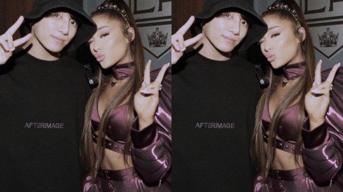 Jungkook dan Ariana Grande
