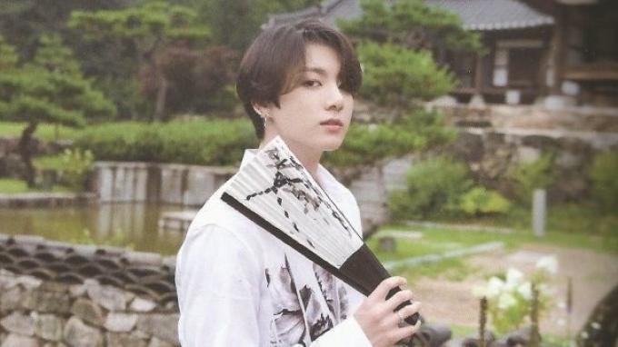 Jungkook BTS untuk Summer Package 2019