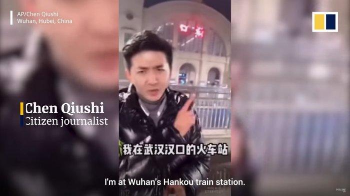 Jurnalis 'Menghilang' Misterius Setelah Rekam Keadaan Wuhan, Sempat Sebut Tak Takut Pemerintah