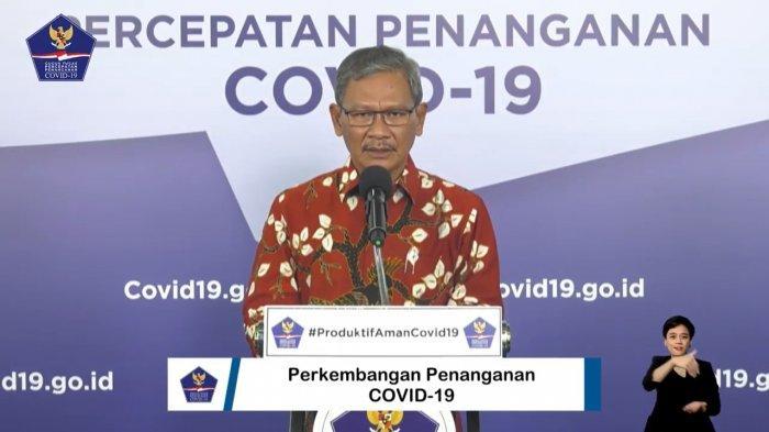 Juru Bicara (Jubir) Pemerintah untuk Penanganan Virus Corona (Covid-19), Achmad Yurianto  3 juli 2020