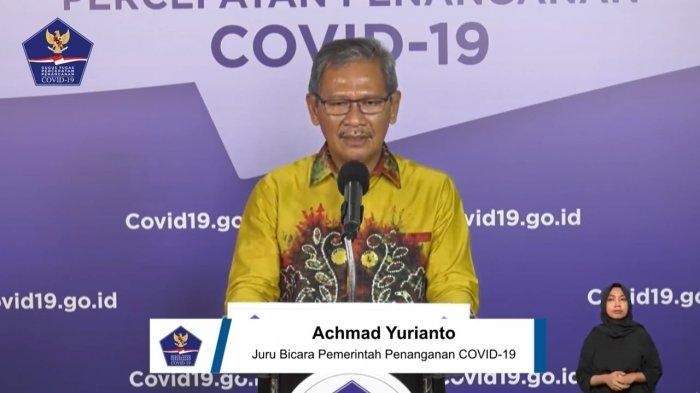 Juru Bicara (Jubir) Pemerintah untuk Penanganan Virus Corona (Covid-19), Achmad Yurianto