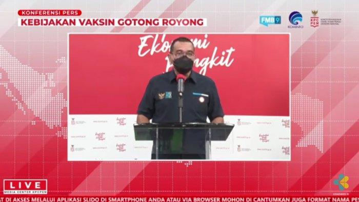 Jubir BUMN Pastikan Vaksinasi Gotong Royong Tak Ganggu Vaksinasi Covid-19 Pemerintah