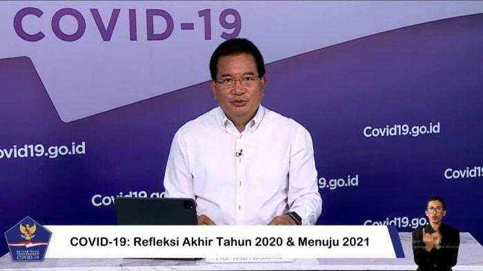 Positif Covid-19, Wiku Adisasmito Sebut Kondisi Fisiknya dalam Keadaan Baik-baik Saja