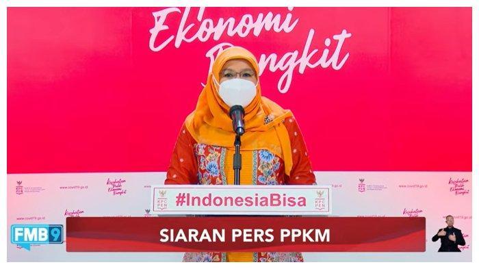 Juru Bicara Vaksinasi Covid-19, Siti Nadia Tarmizi Berikan Kabar Perkembangan Covid19 (Tangkap Layar Youtube Sekretariat Presiden) Rabu (15/9/2021)