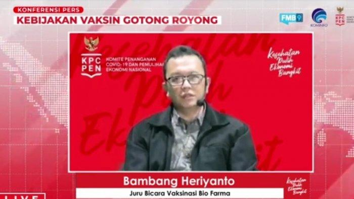Ada Vaksin Covid-19 Gotong Royong,Bio Farma Mulai Jajaki Vaksin Sinopharm dan Moderna