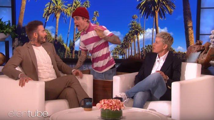 Anaknya Ngefans Berat pada Justin Bieber, David Beckham 'Lempeng' saat Di-prank Suami Hailey Baldwin