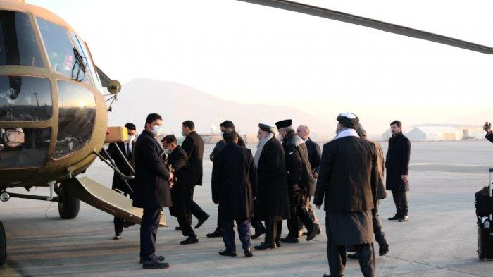Jusuf Kalla Dijemput Helikopter Militer nih