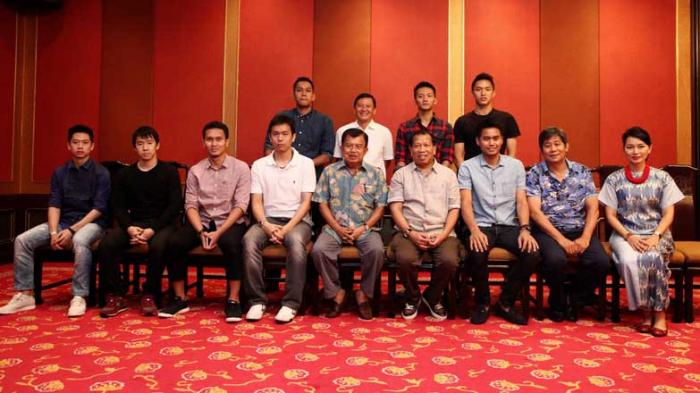 Wapres Berharap Para Atlit Bisa Mendominasi Turnamen Bulutangkis Indonesia Terbuka 2016