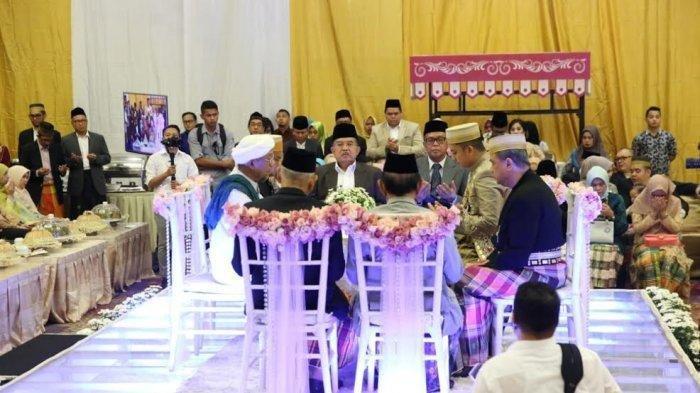 Tiga Menteri Jokowi Hadiri Akad Nikah Keponakan Wapres Jusuf Kalla di Makassar