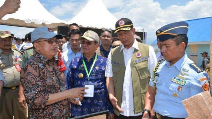 Wapres JK Kunjungi Palu Demi Percepat Pembangunan Pasca Tsunami