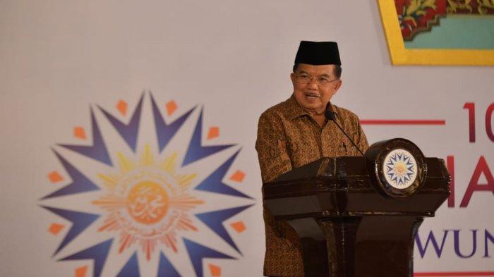 Terima Muhammadiyah Awards di Kota Solo, Wapres Jusuf Kalla Persembahkan Untuk Ibu Mertua dan Istri