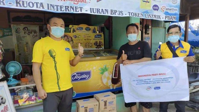 Joyday Salurkan Bantuan untuk Korban Banjir Banjarmasin