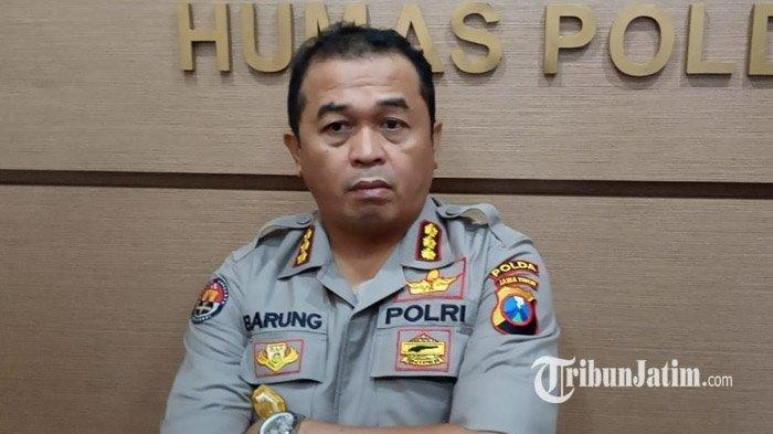 Kabid Humas Polda Jatim, Kombes Pol Frans Barung Mangera. TRIBUNJATIM.COM/LUHUR PAMBUDI