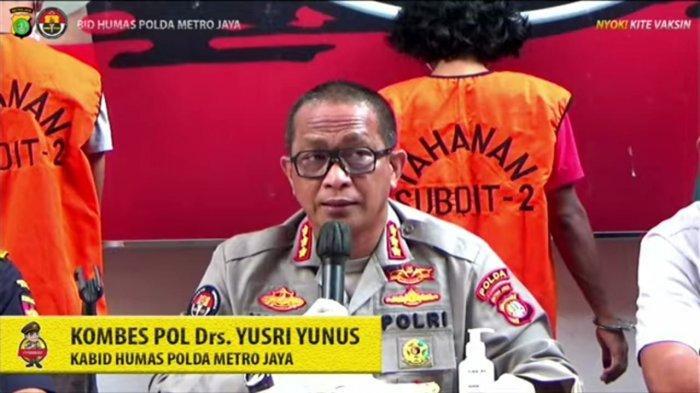 Menyamar jadi Kurir, Aparat Polda Metro Jaya Ringkus Anggota Sindikat Narkoba Lintas Negara