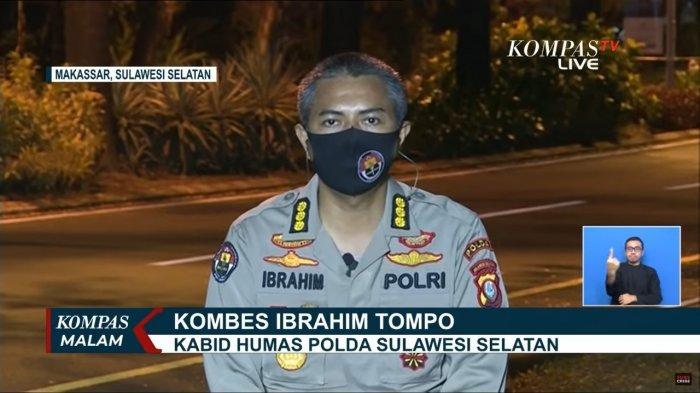 Kabid Humas Polda Sulawesi Setalan, Kombes Ibrahim Tompo