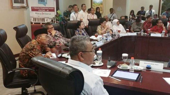 Ketika Niat Khofifah Maju Pilkada Jatim Disinggung Menteri di Jumpa Pers 3 Tahun Jokowi-JK